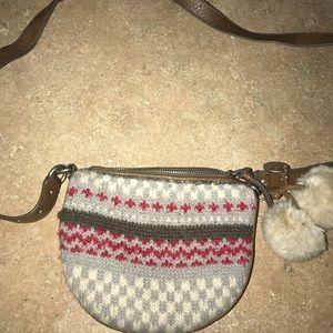 Juicy couture sweater Pom Pom crossbody